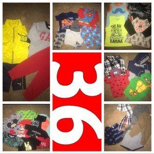 Other - JUMBO 36 piece 2T boys bundle!!!!!